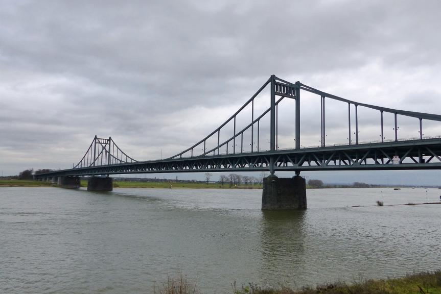 Die letzte Tour des Jahres – UerdingerRheinbrücke