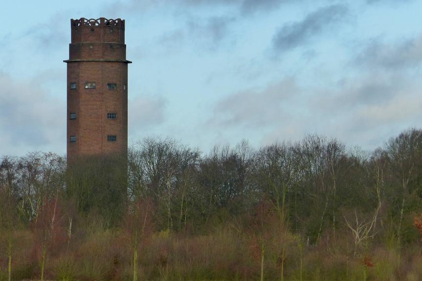 Start in das Jahr 2018 – Wasserturm inTönisvorst