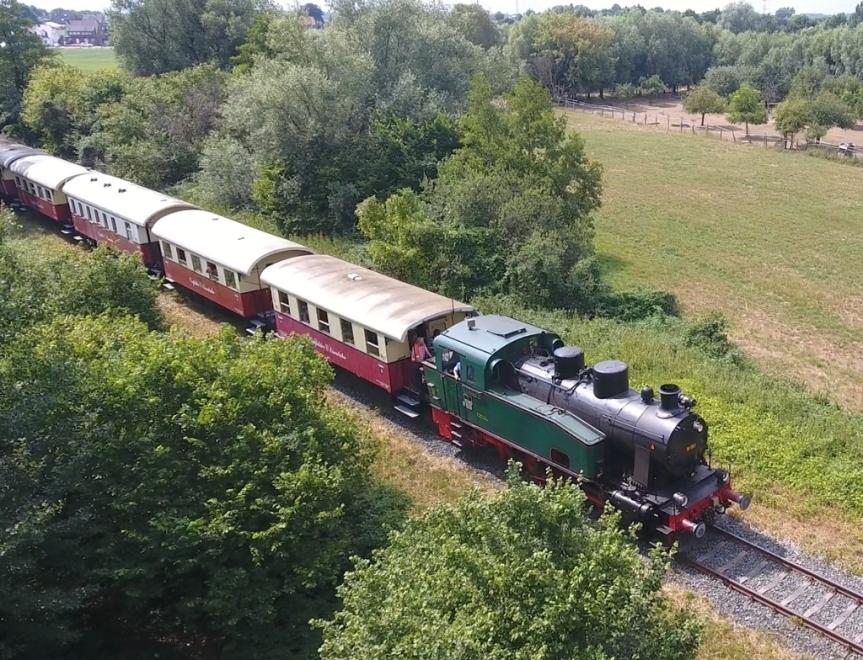 Urlaubstag 10: Die Helden, die Pokalsieger und dieDampflokomotive