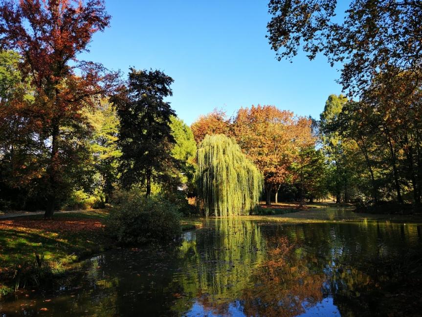 Der Sommer, der Herbst und der schlankeFluss