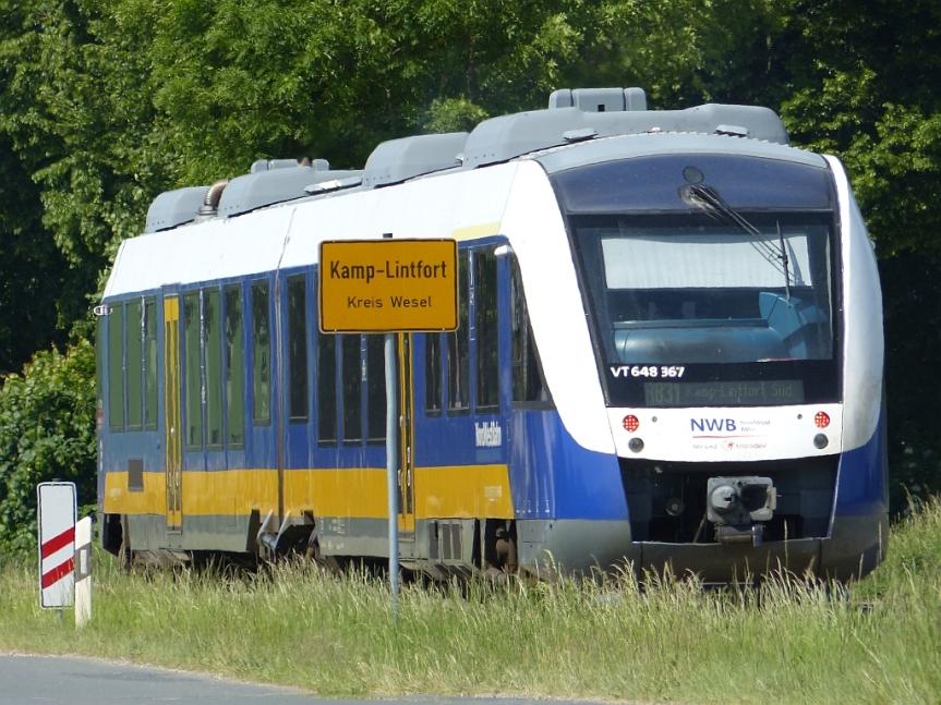 Kamp-Lintfort und dieHalden