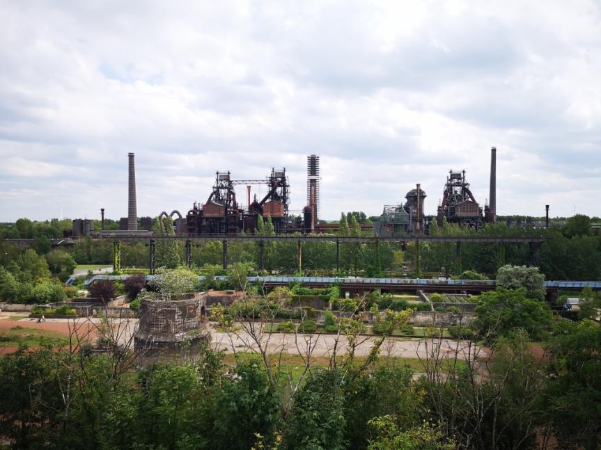 Landschaftspark Duisburg, Eisenbahnen und Christoph9