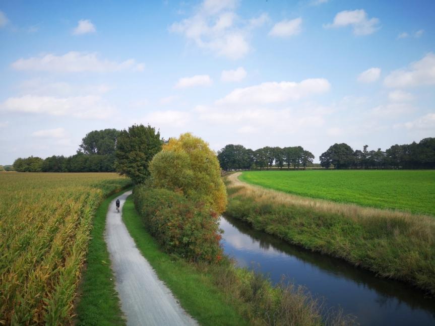 Von Hamm nach Münster – Werse-Radweg, Zeche Westfalen und eineSchafherde